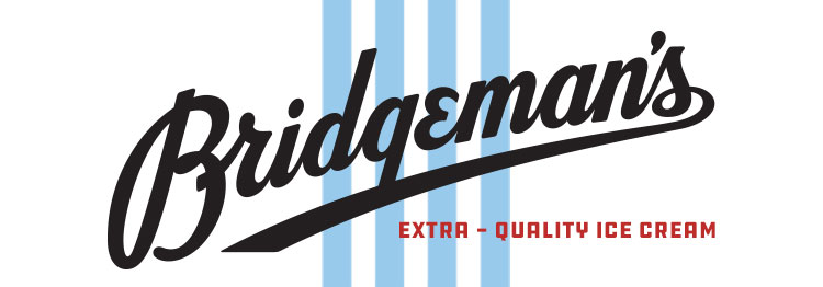 Bridgemans Exta Quality Ice Cream Logo